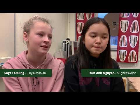 Matsvinnstävling Byskeskolan