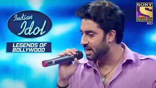 Abhishek ने किया Stage पे Rap | Indian Idol | Legends Of Bollywood - SETINDIA