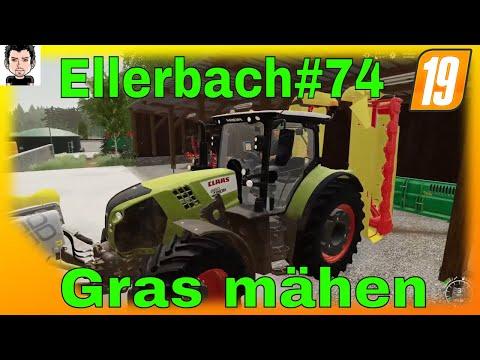 LS19 Ellerbach#74 Tier versorgen und Gras mähen Landwirtschafts Simulator 19