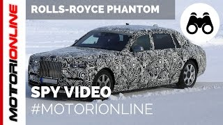 Rolls-Royce Phantom 2018 – Video spia (marzo 2017)