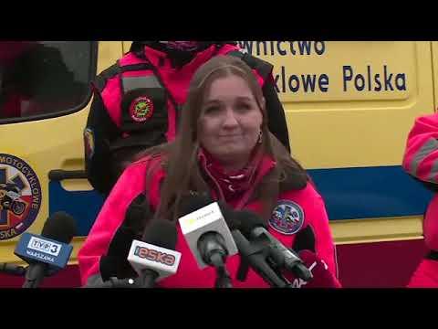 Konferencja prasowa ratowników i ratowniczek medycznych