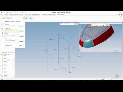 Comando Copy Geometry en Creo Parametric - Funcionalidad Top Down Design