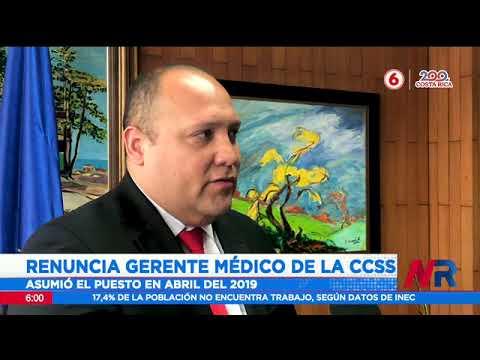 Renuncia Gerente Médico de la CCSS