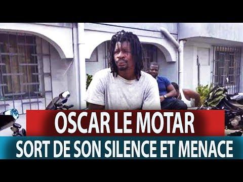 OSCAR LE MOTARD SORT DE SON SILENCE ET MENACE