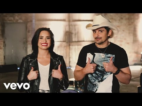 Brad Paisley - Behind the Scenes: Without a Fight ft. Demi Lovato