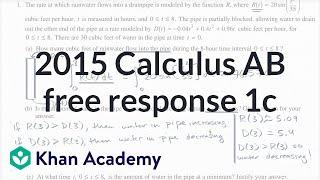 2015 AP Calculus AB/BC 1c