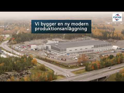 Vi bygger en ny modern produktionsanläggning