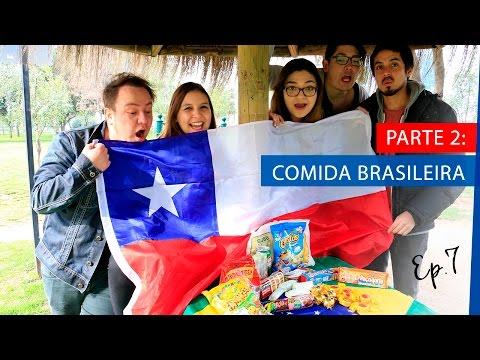 Chilenos provando Guloseimas do Brasil - Ep. 7 | La Mirada Chilena