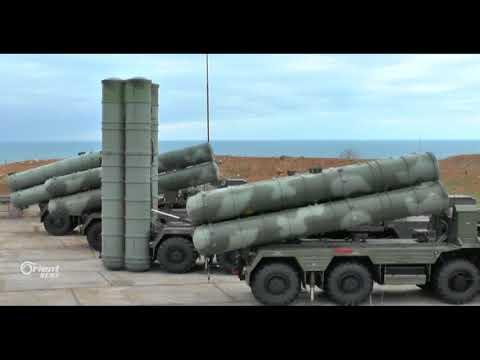 روسيا تنشر صواريخ أرض-جو من طراز إس 400 في شبه جزيرة القرم
