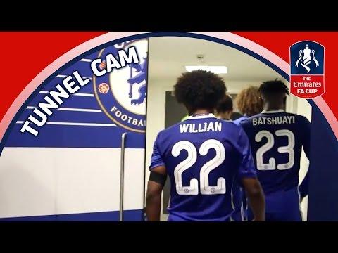 Tunnel Cam - FA Cup Semi Final - Chelsea v Tottenham Hotspur | Inside Access