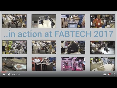 Universal Robots in action at FABTECH 2017