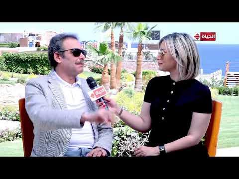 عين - لقاء خاص مع أحمد عبد العزيز على هامش مهرجان المسرح الدولي للشباب