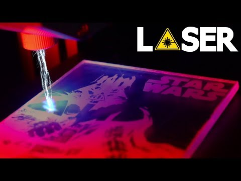 AWESOME Darth Vader LED Lamp - Laser Engraved