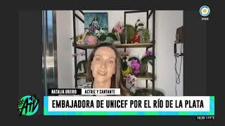 Natalia Oreiro expone cómo la pandemia de coronavirus afecta a los niños -