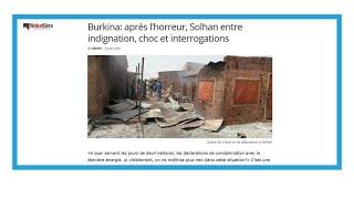 Massacre de civils à Solhan: