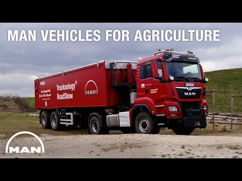 Powerful. Robust. Reliable. - MAN Vehicles for agriculture