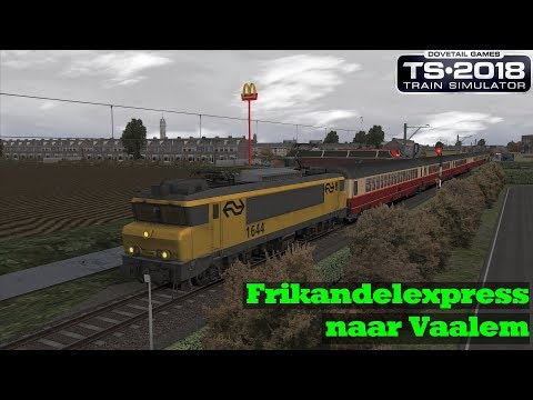 Frikandelexpress naar Vaalem  t IJdammerland  NS 1644  Train Simulator 2018