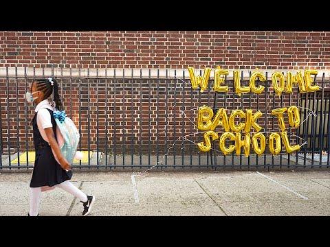 New York City schools reopen