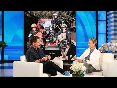 connectYoutube - Rob Lowe and Ellen Discuss Recovery Efforts in Montecito