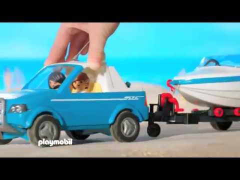 PLAYMOBIL presenteert... Rij met je gloednieuwe Pick-up naar het strand! (België)