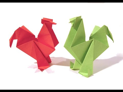 Download Youtube To Mp3 Easter Origami Rooster Hen
