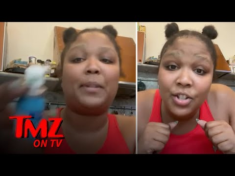 Lizzo Freestyles Anti-COVID Song During PSA, 'Give Me Six Feet' | TMZ on TV