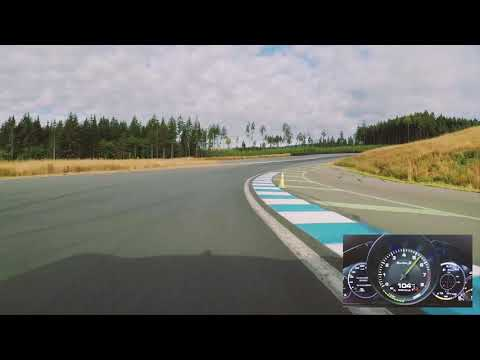 Hotlap with the Panamera Turbo S E-Hybrid at the Vancouver Island Motorsport Circuit.