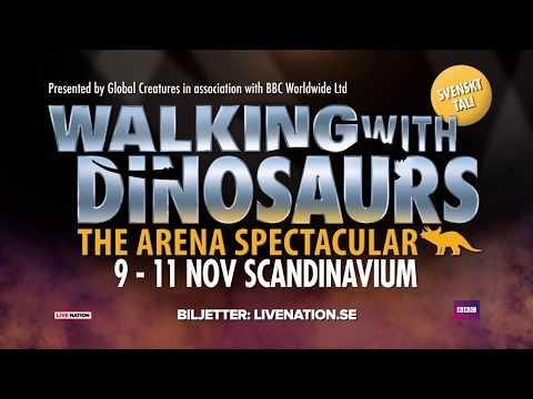WALKING WITH DINOSAURS - 9-11 NOV 2018 - GÖTEBORG