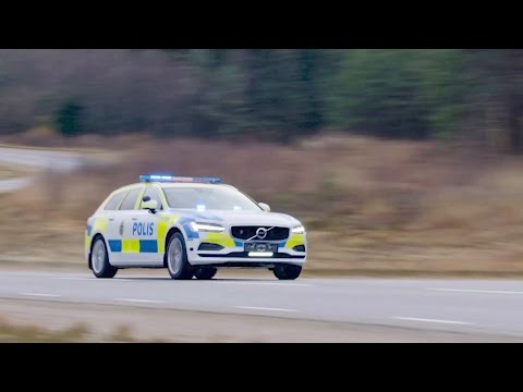 2017 Volvo V90 POLICE CAR Test Drive