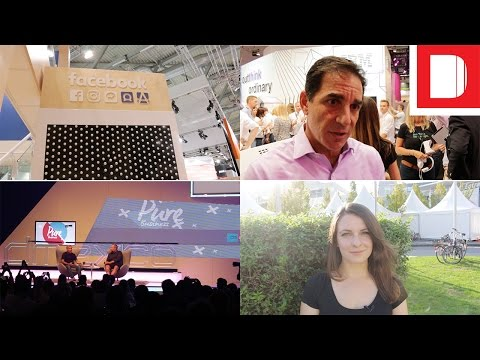 Sorrell Meets Shane Smith & Facebook Teases Newsfeed | Day 1 @ Dmexco 2016