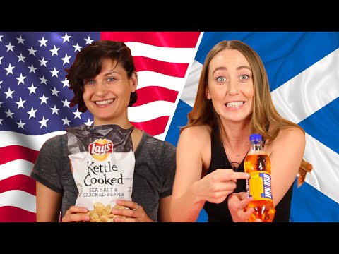 American & Scottish Snack Swap