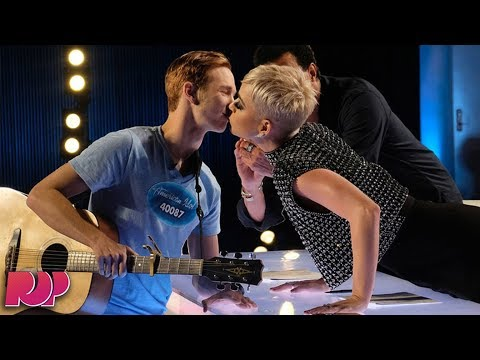 connectYoutube - American Idol Contestant 'Uncomfortable' With Katy Perry's Kiss