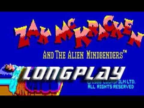 Longplay #182 Zack Mckracken and the alien mindbenders (Commodore Amiga)