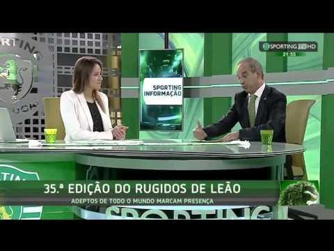Antevisão dos 35º Rugidos do Leão 2015 - Sporting TV (3/11/2015)