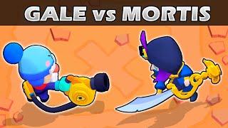 GALE vs MORTIS   1vs1   26 Test   Brawler cromático