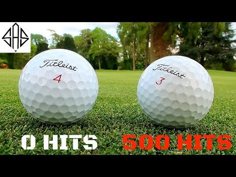 HITTING A TITLEIST PRO V1 500 TIMES - What Happened?!