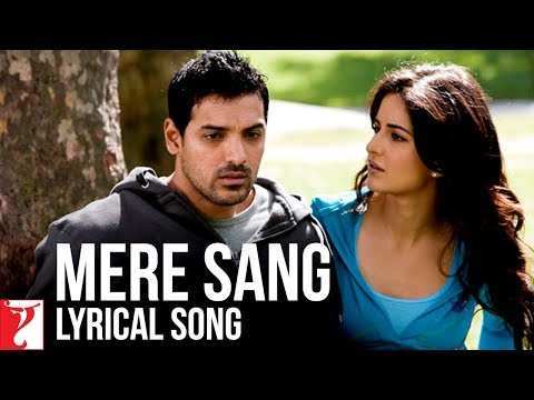 Lyrical: Mere Sang Song with Lyrics | New York | John Abraham | Katrina Kaif | Sandeep Shrivastava