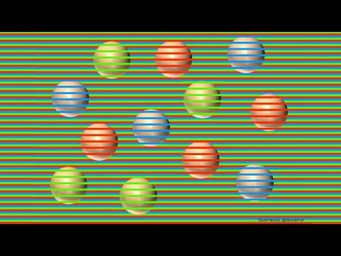 Todas Estas Esferas son del Mismo Color