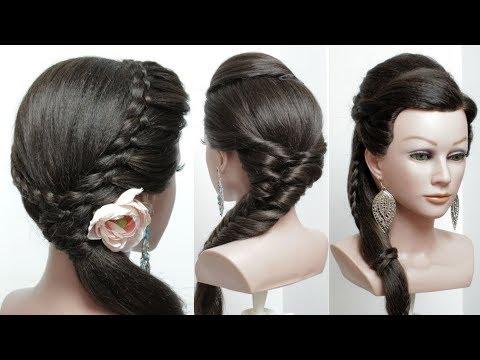 3 Модные Прически На Длинные Волосы. Легкие Косы.