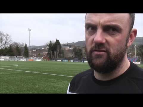 Hughes speaking after today's win over Airbus