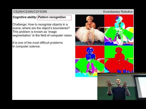 Evolutionary robotics Lecture 04: Neural networks. (Recorded Jan 25, 2018)