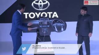 Toyota Prius Launch at AutoExpo 2016 - 4 Feb 2016