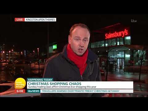 connectYoutube - Christmas Shopping Chaos | Good Morning Britain