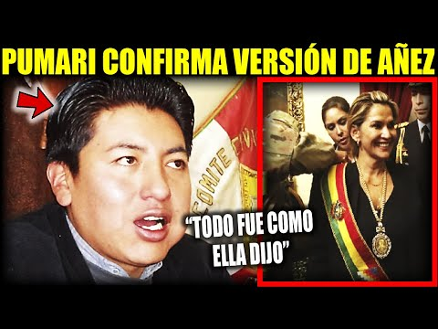 "Pumari da la cara por Jeanine Añez ""Confirmó reuniones previas a que asuma la Presidencia"""