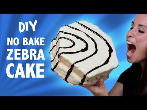 connectYoutube - DIY NO BAKE ZEBRA CAKE - VERSUS