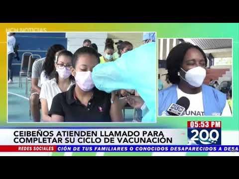 Con éxito desarrollan jornada de Vacunación en Roatán y La Ceiba