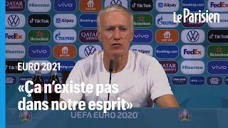 Hongrie-France : «Quand on fait du sport, on ne fait pas de politique», déclare Deschamps
