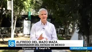 Del Mazo afirma supuesta disminución de contagios de COVID-19 en el Edomex