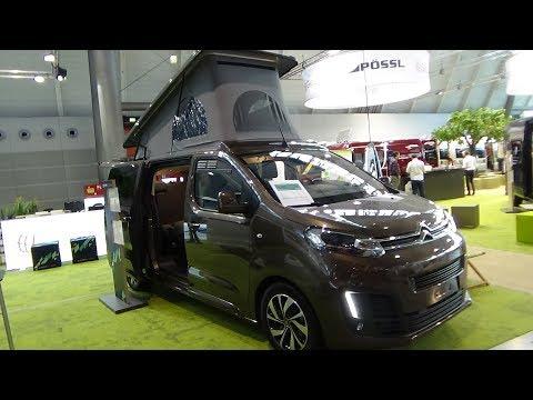 2018 Citroen Pössl Campster - Exterior and Interior - Caravan Show CMT Stuttgart 2018