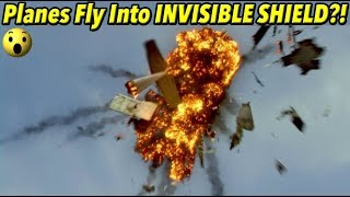 Did Planes Fly Into an INVISIBLE SHIELD in Antarctica?! | FE PROOF 5
